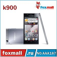 Wholesale 5.5 inch Original Lenovo K900 phone Android 4.2 Dual core RAM 2G ROM 16G GPS