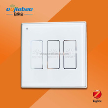 Touch screen or controlled with smart phone app Zigbee wall switch