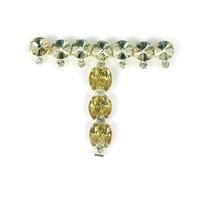 Women Lady Sandal Accessory Slipper Crystal T Chains