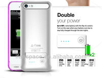 Newest best quality Battery Case for iPhone 5 iPhone 5S with MFI