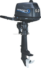 New type 2-stroke /5HP Marine inflatable boat with outboard motor/engine short shaft/Manual tilt SPEEDA M5