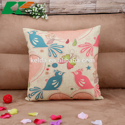 2015 Flowers and birds restoring ancient ways pastoral Cotton and linen hold pillow home furnishing cushion cover