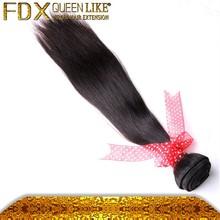 Novo produto um doador 100% crua não processada do cabelo humano em linha reta virgin cabelo humano peruano do