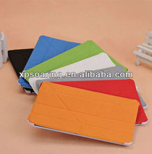 Ball skin style leather case pouch for mini ipad