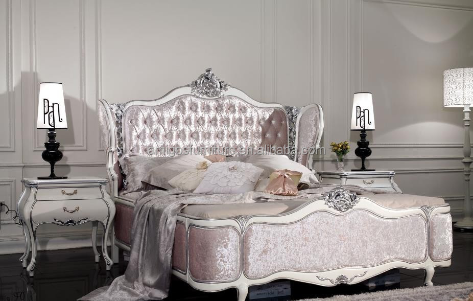 French Bedroom Furniture Set Italian Classic Luxury Adult Room Furniture Rococo French