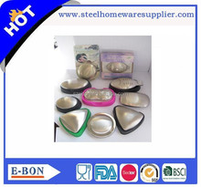 Rich shape Stainless Steel Soap Dish