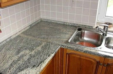 China Juparana Gray Granite Bathroom Vanity Top Kitchen Table
