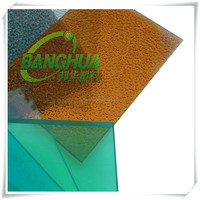 indoor house decoration poloycarbonate plastic wall panel