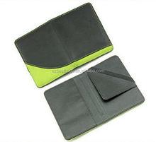 Durable latest rfid blocking passport case wallet