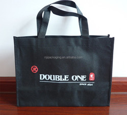 customized logo recycle carrying Nonwoven bag shopping bag