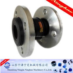 High pressure 1/2 inch to 20 inch natural rubber expansion joints