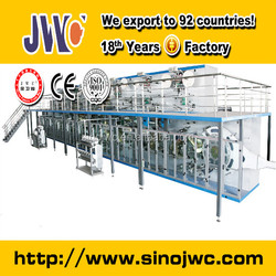 used diaper machine changing pad making production line