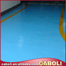 Caboli epoxy garage floor paint smoothly film
