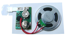 Music chip/sound module for toy voice record/playback device