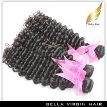 Noble virgin no shedding & tangle virgin mongolian wavy hair for wholesale trustworthy hair golden supplier