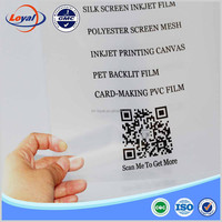 silkscreen printing waterproof inkjet transparent film for inkjet printers