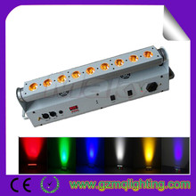 battery powered wireless dmx led uplights / led wash light for wedding fasion show music concert or club