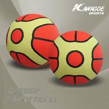 Rubber basketball goal