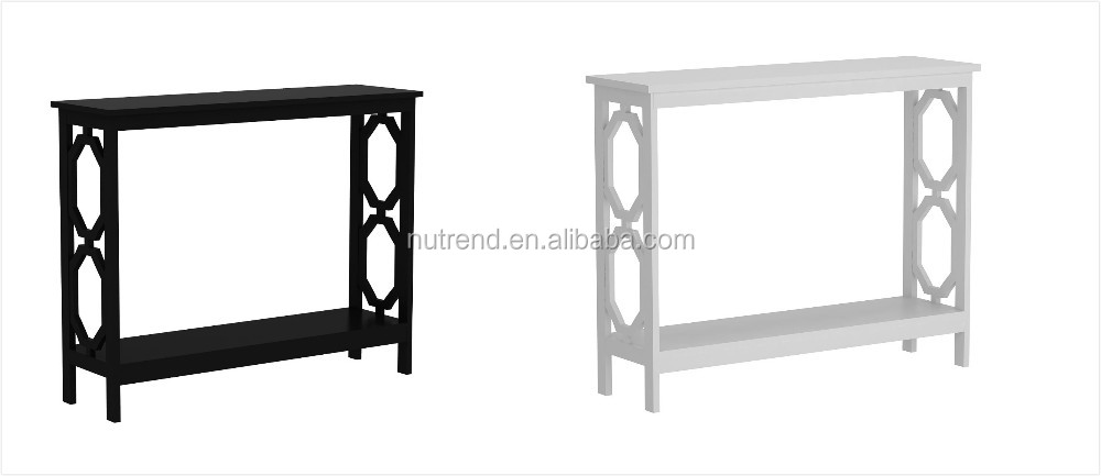 couloir meubles noir console table avec rangement derri re. Black Bedroom Furniture Sets. Home Design Ideas