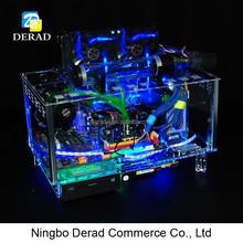 Horizontal Water Cooling PC Raditor ATX Computer PC Case