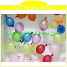 new style magic water balloons wholesale duck shape helium balloons