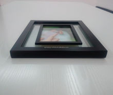 Transparent Clear Glass Picture Frame Picture Frames Apps Photo Frame With Pen Holder