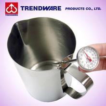 Commercial Grade Heavy Gauge 18 8 Stainless Steel Coffee Milk Jug