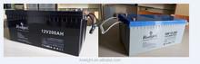 Valved regulated lead acid battery 12v 200ah solar battery 12v 200ah deep cycle battery