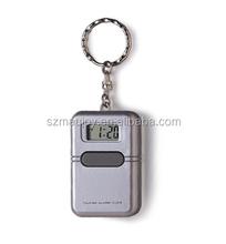 Square Talking Alarm Clock Keychain
