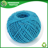 HB772 Recycled yarn manufacturers buyers of stocklots industrial yarn cotton twister ball made
