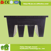 ABS Frame hot melt HVAC system commercial V-type activated carbon filter