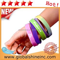 Custom Promotional Wrist Band,Adjustable Silicon Wristband,Promotional Silicon Bracelet