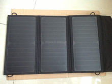 New arrival 20W Multi Purpose solar laptop charger, folding solar panel, portable solar panel