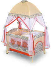Baby playpen play yard with mosquito net