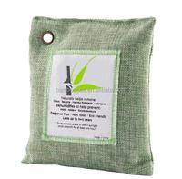 OEM BambooSea Natural 100 % Bamboo Charcoal Air Purifying Bag, 500gm, Natural Color