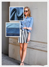 2012 top selling in alibaba pure cotton denim fabric used for jeans made in china