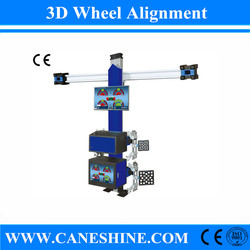 2015 CE&ISO Vehicle Equipment 3D Wheel Alignment Price with LCD Screen Equipment Price for Garage(Automatic Lifting) CS-4067