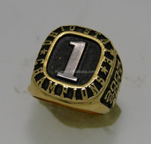 The Number One Championship baseball rings for popular tournament