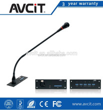 Speech and voting unit,conference microphone for speech and voting, Open control protocol,Audio Conference Console