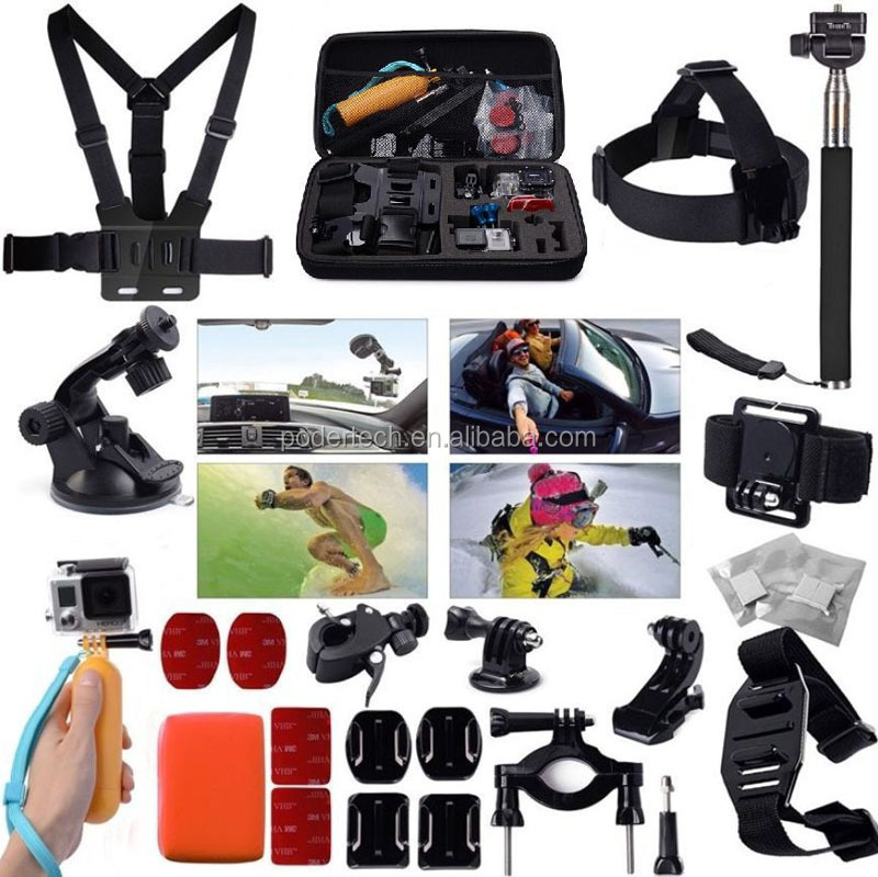 Gopros accessories Kits