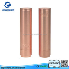 ELG Popular style Full Mechanical Mod Manhattan Mod copper 4nine mod