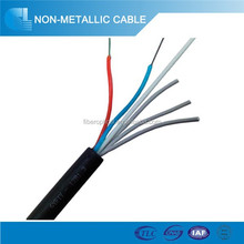 GYFTY non- armored fiber cable/ non- metallic optic cable/ duct or aerial cable
