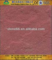Fine grain structure Red sandstone yellow mushroom sandstone