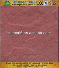 Fine grain structure Red sandstone yellow mushroom sandstone