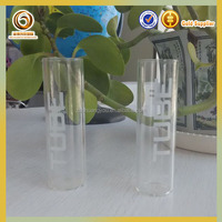 High quality fancy glass test tube with cork