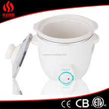 top quality 0.7L slow cooker, multifunctional electric mini cooker, ceramic inner pot rice cooker