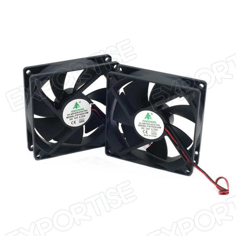 Dc Electric Fan : Water cooling fan v dc axial electric