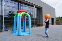 wholesale inflatable basketball hoop, inflatable lawn basketball shoot game