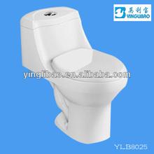sanitary ware HOTchina porcelain square one piece ceramics toilet