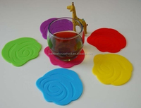 Hot Sell Heat Resisitant silicone rubber cup sleeve
